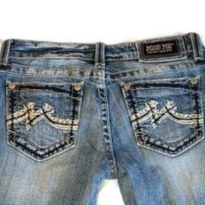 Miss Me Jeans Factory Distressed Bootcut